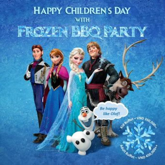 frozen-bbq-party-children-day